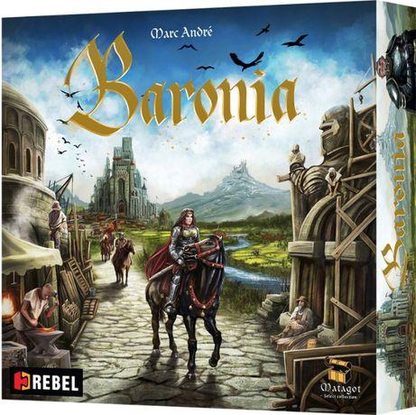 Baronia - gra planszowa (nowa) (folia) Rebel Splendor Majestat