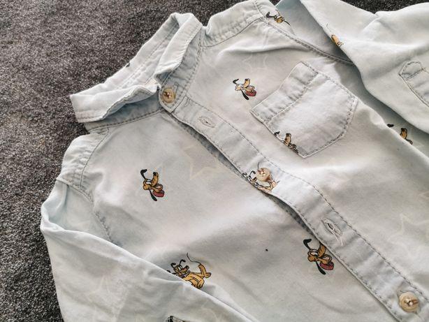 Koszula jeansowa Zara r. 68