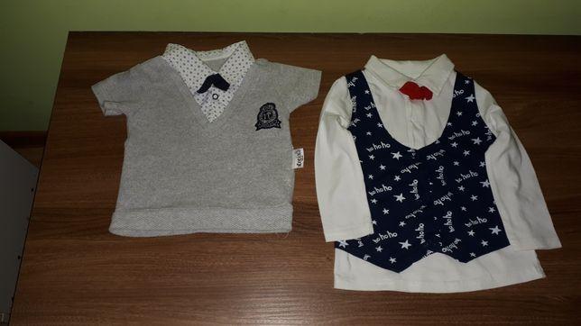 Bluzeczki niemowlęce świąteczne