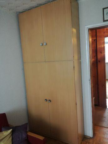 Duża szafa, płytka - Meble PRL, dobre do renowacji