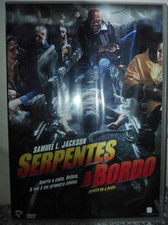 Filme DVD Serpentes a Bordo Ano 2006