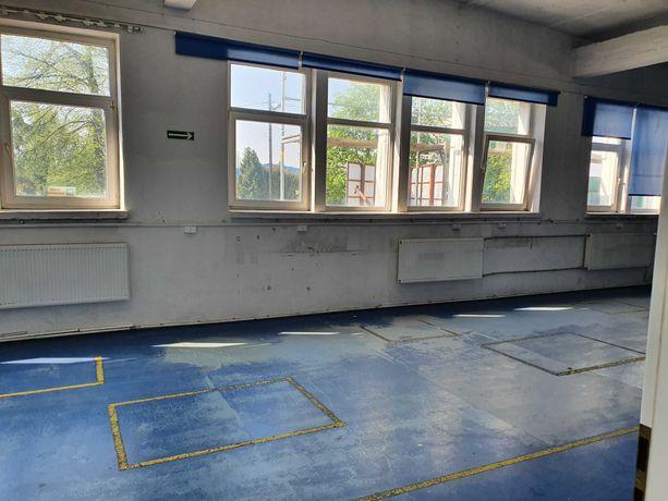 zajęcia sportowe,magazyn 330 m2 ,rampa,wysoki,ogrzewany