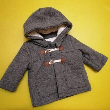 Куртка H&M пальто Zara Демисезон next 4-6 мес