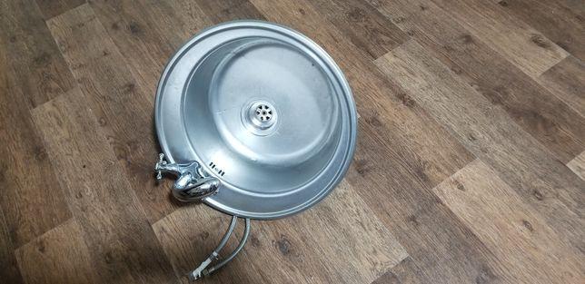 Мийка на кухню + змішувач (мойка + смеситель) по одній ціні