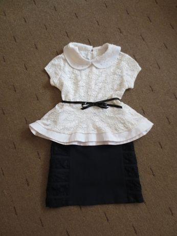 школьная юбочка и блузка