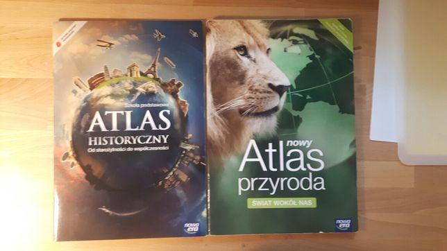 Atlas przyrodniczy/historyczny nowa era