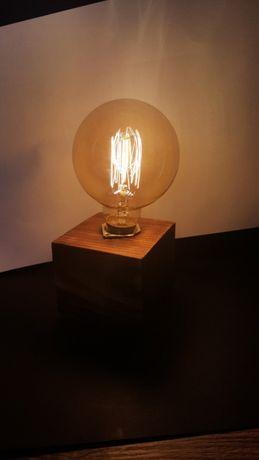 Lampka Edison hand made prezent na Mikołaja