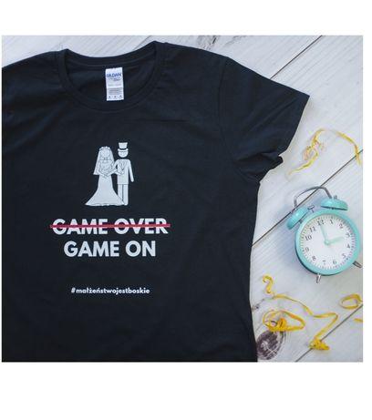 Koszulka męska i damska / prezent dla pary młodej