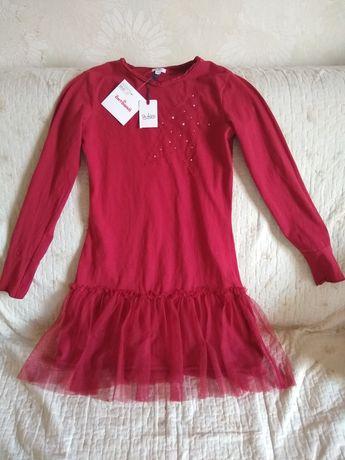Новое платье итальянского бренда Blukids, 11-12лет, 152см.