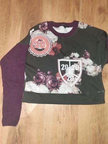 Bluza sweterek krótki L