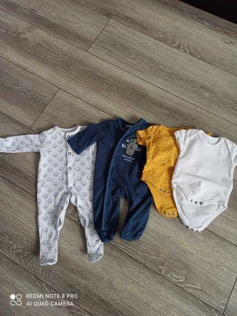 Paka ubrań dla chłopca rozmiar 56