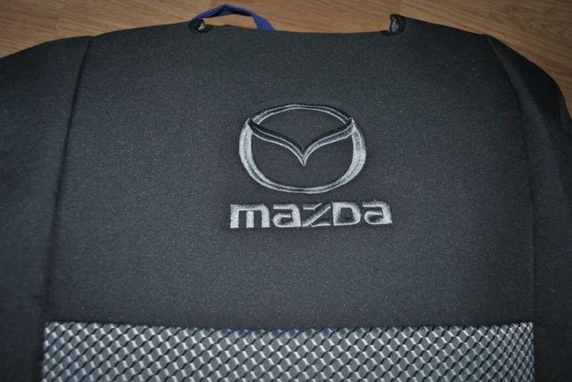 Чехлы для салона Mazda 5 модельные 7 мест