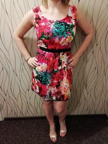 Kolorwa sukienka M