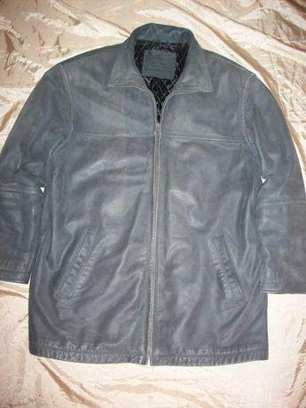 Колекція вінтаж 1990-х рекетірка мужская кожаная куртка Angelo XL
