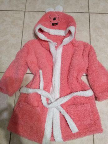 Халат банный для девочки 4-5 лет