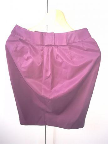 Bordowa olowka spódnica top secret