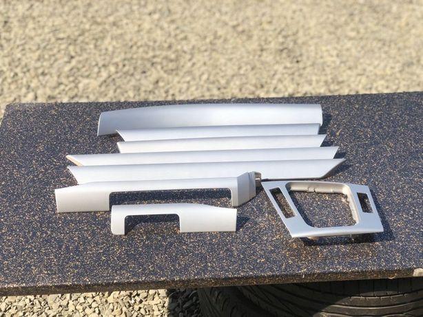 Продам Декор на Бмв Е46 Планки Рамка Серебро Сірий Клмплект Шрот