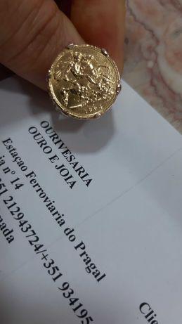 Anel Meia Libra em ouro de 19k/22k desde 729.00