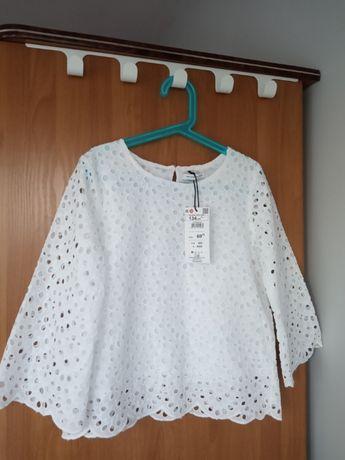 Bluzka dziewczęca nowa z metką, rozmiar 134
