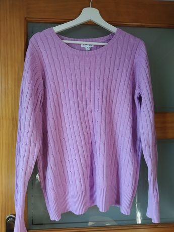 Sweter, sweterek fioletowy róż rozmiar XL (zarezerwowane)