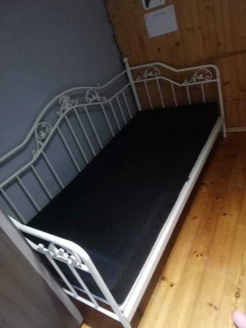 Łóżko metalowe 300 zł