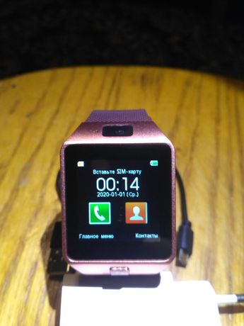 Часы телефон сенсорный дисплей