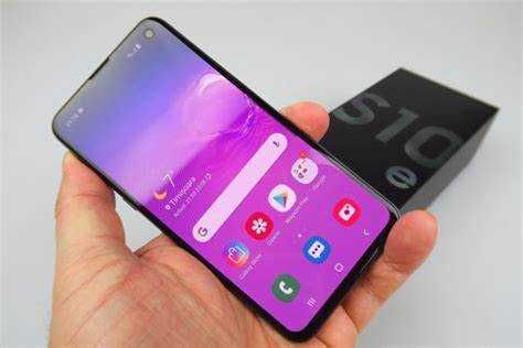 Vendo Samsung Galaxy S10E/ Azul (Dual SIM)