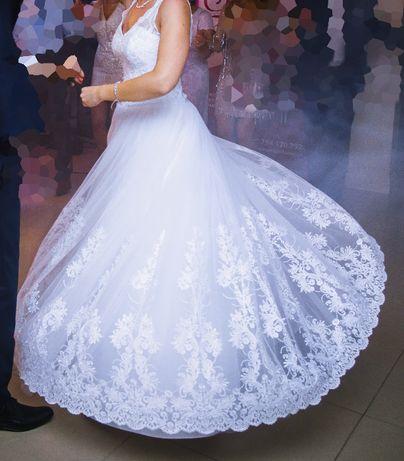 Suknia ślubna i bolerko