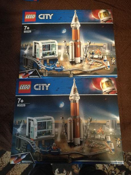 Centrum lotów kosmicznych LEGO City 60228 2 sztuki