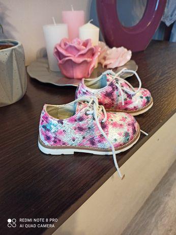 Buciki trzewiki  buty dla dziewczynki