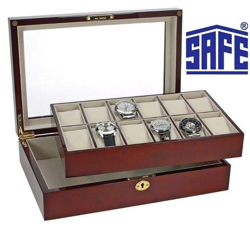 Шкатулка для коллекционирования наручных часов фирмы SAFE