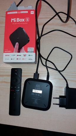 przystawka do tv - mi box S - chromecast