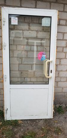 Входная алюминиевая дверь 960х2070