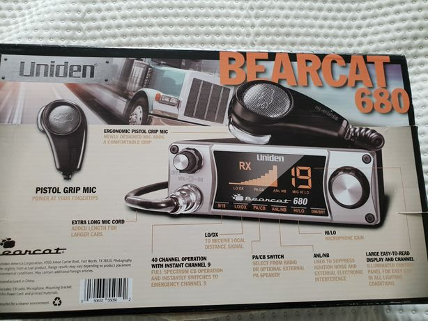 cb radio uniden beartcat 680
