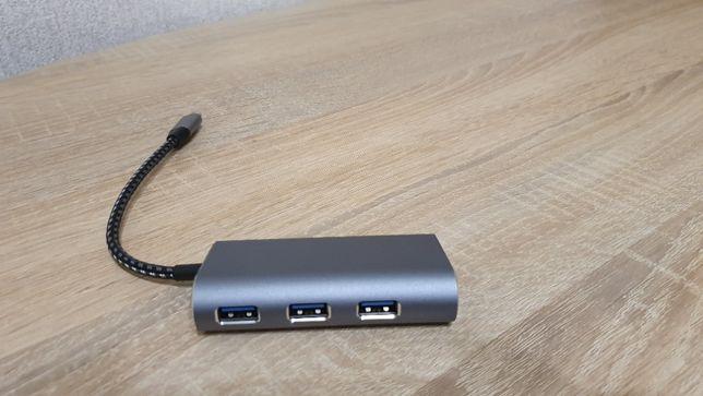 USB 3,0 адаптер usb-хаб type C концентратор