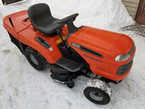 Traktorek kosiarka Husqvarna CTH171 17KM z koszem