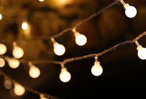 LED гирлянда ретро шарики светодиодная АА,usb 1.5,2,3,5,10м.Пульт ДУ