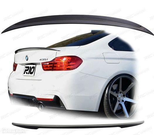 AILERON / LIP/ PARA BMW SERIE 4 GT F36 LOOK M4 PRETO BRILHO