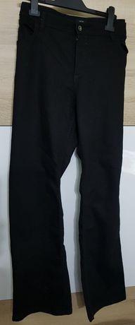 Spodnie czarne jeans 48