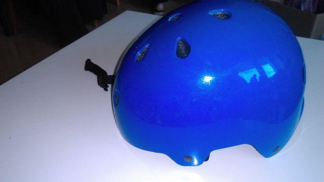 Kask okselo Play 3 niebieski 55 58 cm