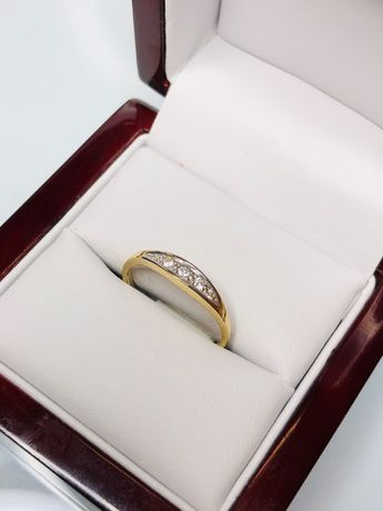 złoty pierścionek p585 1,60g