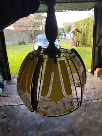Stara lampa sufitowa