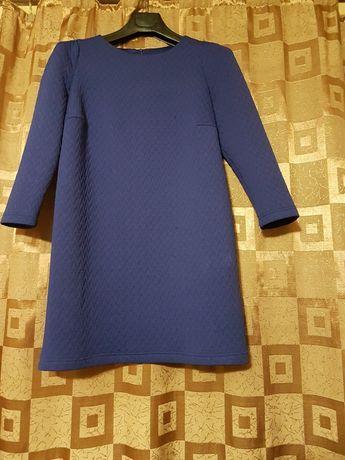 Платье синего цвета, размер М