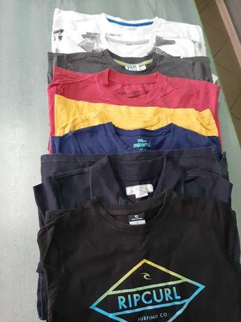 Zestaw 8 t shirt 134-140, 8-10 lat