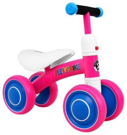 Rowerek biegowy Jeździk PettyTrike dla Najmłodszych Dziewczynek!