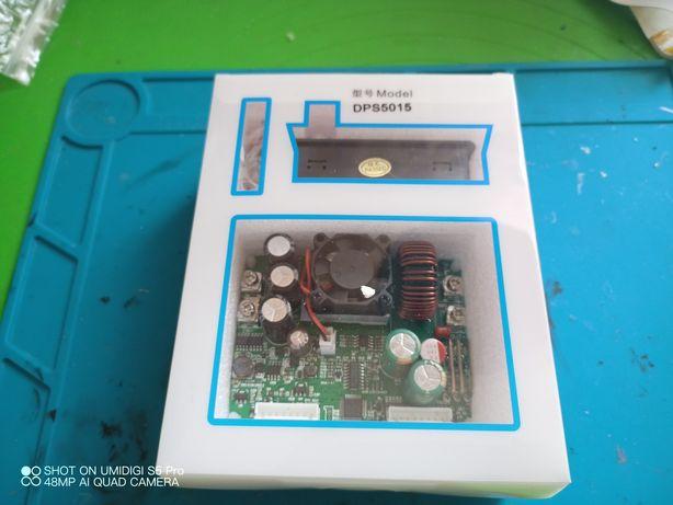DPS5015 программируемый понижающий DC-DC преобразователь напряжения 50