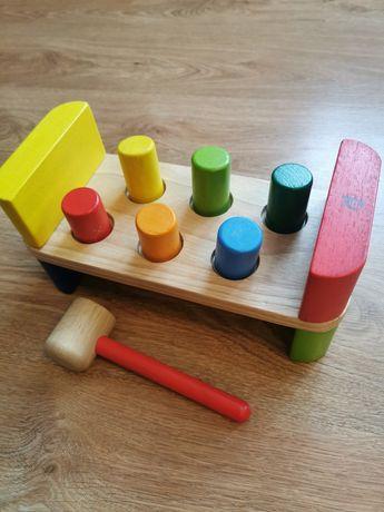 Przebijak drewniany, zabawka