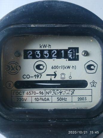 Счётчик на электро энергию