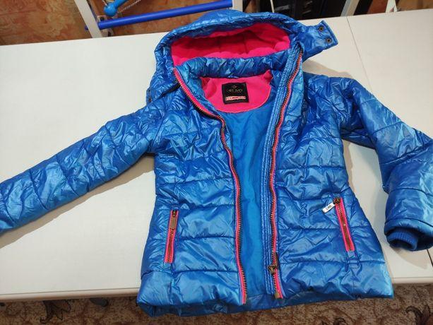 Брендовая демисезонная куртка Cars Jeans на девочку 7-9 лет
