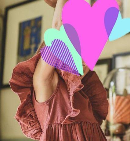Sukienka w stylu boho 100%cotton i druga z dlugim rękawem Reserved 128